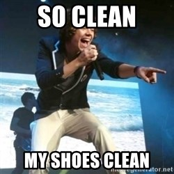 Heartless Harry - so clean my shoes clean