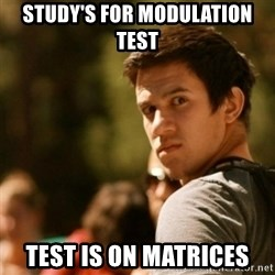 Disturbed David - Study's for modulation test Test is on matrices