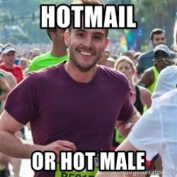Incredibly photogenic guy - hotmail or hot male