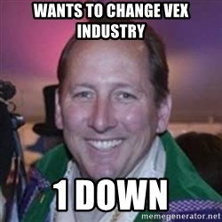 Pirate Textor - Wants to change vex industry 1 down