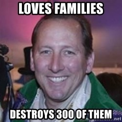 Pirate Textor - Loves families destroys 300 of them