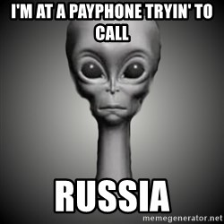 HetaOni Steve - I'm at a payphone tryin' to call RUSSIA