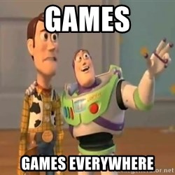 X, X Everywhere  - games games everywhere