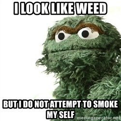 Sad Oscar - i look like weed  but i do not attempt to smoke my self