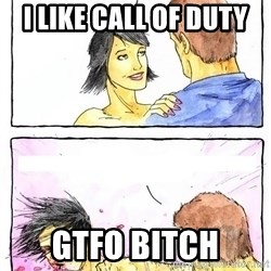 Alpha Boyfriend - i like call of duty gtfo bitch