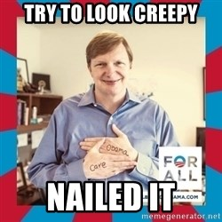 Jim Messina - Try to look creepy nailed it