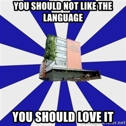 Tipichnuy MGLU - You should not like the language you should love it