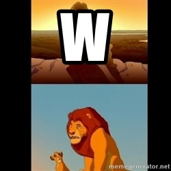 Lion King Shadowy Place - w