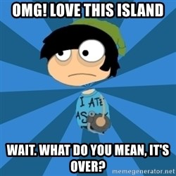 Poptropican - omg! love this island wait. what do you mean, it's over?
