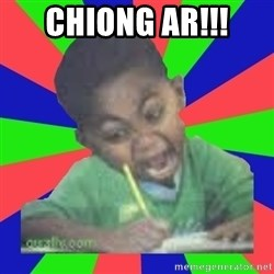 Exam Kid - Chiong ar!!!