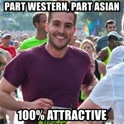 Incredibly photogenic guy - part western, part asian 100% attractive