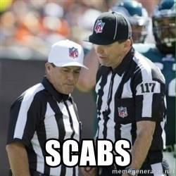 NFL Referees - SCABS