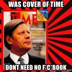 Helmut looking at top right image corner. - WAS COVER OF TIME DONT NEED NO F*C*BOOK