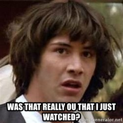Conspiracy Keanu - was that really ou that i just watched?
