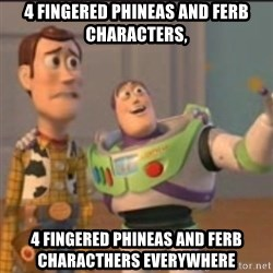 Buzz - 4 fingered phineas and ferb characters, 4 fingered phineas and ferb characthers everywhere