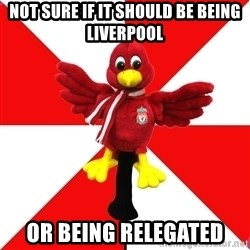 Liverpool Problems - not sure if it should be being liverpool or being relegated