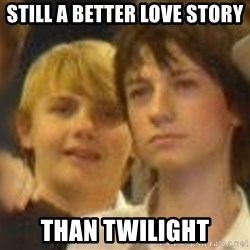 Thoughtful Child - still a better love story than twilight