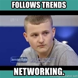 Sympathy Sacha - follows trends networking.