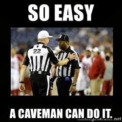 Replacement Ref - So easy A caveman can do it.