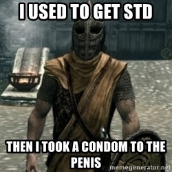 skyrim whiterun guard - i used to get std  then i took a CONDOM to the penis