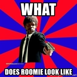 (Samuel L Jackson)Pulp Fiction - what does roomie look like