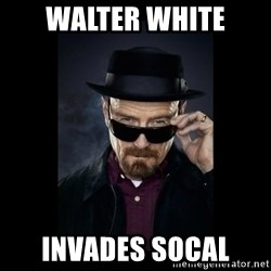 Walter White Hat - Walter white Invades socal