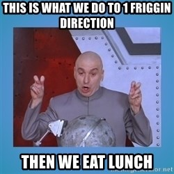 dr. evil laser - this is what we do to 1 friggin direction then we eat lunch