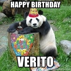Happy Birthday Panda - Happy Birthday verito