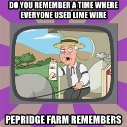 Pepperidge Farm Remembers FG - Do you remember a time where everyone used lime wire  Pepridge farm remembers