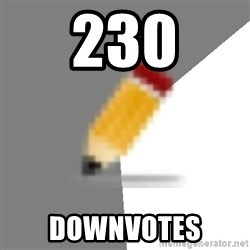 Advice Edit Button - 230 Downvotes