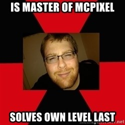 Jesse Cox - is master of mcpixel solves own level last