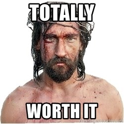 Masturbation Jesus - totally worth it