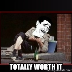 worth it homeless guy yao ming lagh - TOTALLY WORTH IT