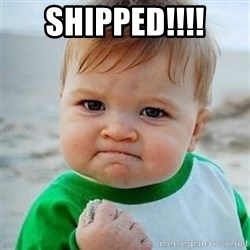 Victory Baby - Shipped!!!!