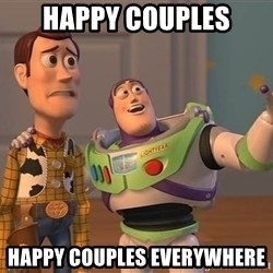 ORIGINAL TOY STORY - HAPPY COUPLES HAPPY COUPLES EVERYWHERE