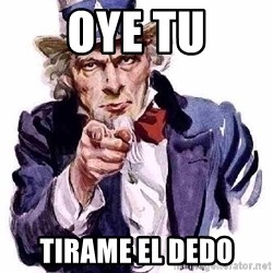 Uncle Sam Says - oye tu tirame el dedo