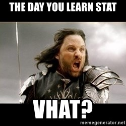 Aragon - What Say You - The day you learn stat vhat?