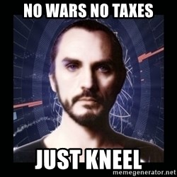 General Zod - nO wARS nO TAXES jUST kNEEL