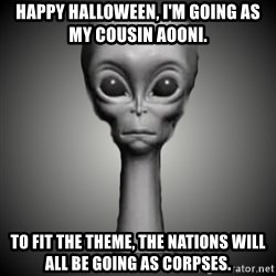 HetaOni Steve - Happy Halloween, I'm going as my cousin AoOni. To fit the theme, the nations will all be going as corpses.