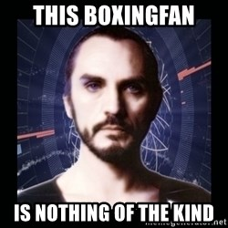 General Zod - This boxingfan is nothing of the kind