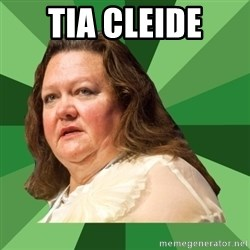 Dumb Whore Gina Rinehart - Tia cleide