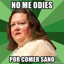 Dumb Whore Gina Rinehart - no me odies por comer sano