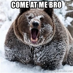 Clean Cocaine Bear - come at me bro