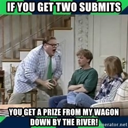 matt foley - If you get two submits You get a prize frOm my wagon Down by the river!