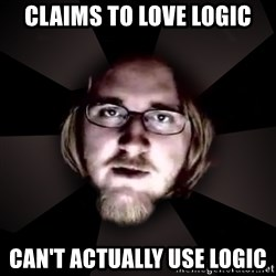typical atheist - claims to love logic can't actually use logic