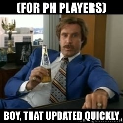 anchorman2 - (for ph players) boy, that updated quickly