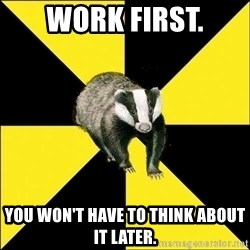 PuffBadger - work first. You won't have to think about it later.