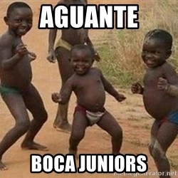 african children dancing - aguante boca juniors