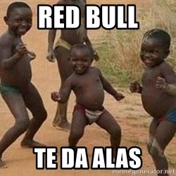 african children dancing - red bull te da alas