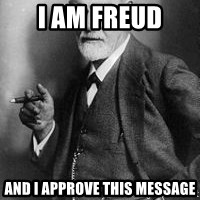 freud - i am freud and i approve this message